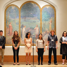 2016 New Mexico Poetry Out Loud Participants