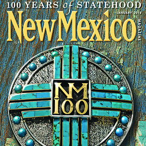 photo of the cover of New Mexico Magazine of Santa Fe